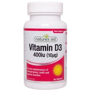 Vitamin D3 400iu 90's - 127620